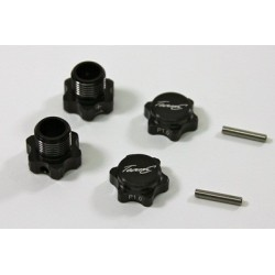 Alu Hex Mount +1mm (2 pcs) 1:8 Comp.