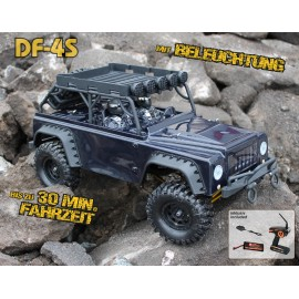 Crawler escala DF 4S - Edición Black - DF Models
