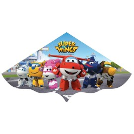 Cometa SuperWings 120 cm Plastico
