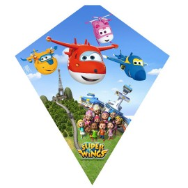 Cometa SuperWings 70 cm Plastico