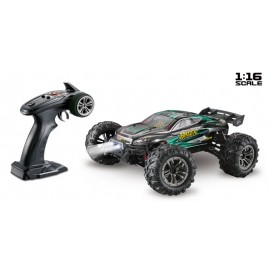 Coche Radiocontrol Escala 1:16 4WD High Speed Truggy RACER 2,4GHz Negro