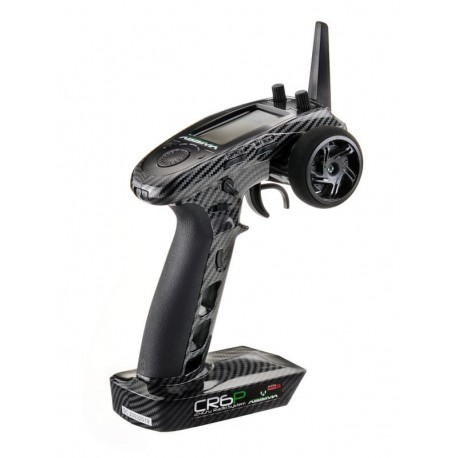 Emisora Crawlers Absima 6 canales CR6P CARBON EDITION 2.4GHz incl.