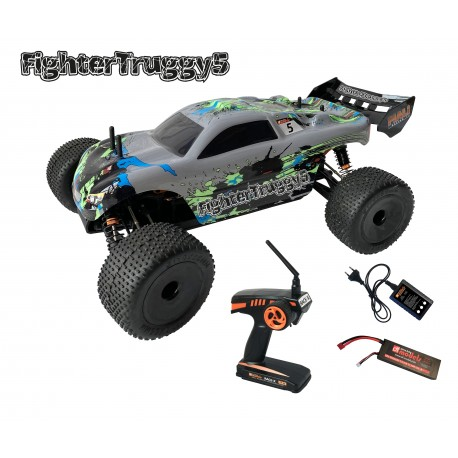 Coche Rc FighterTruggy 5 - Brushless - RTR