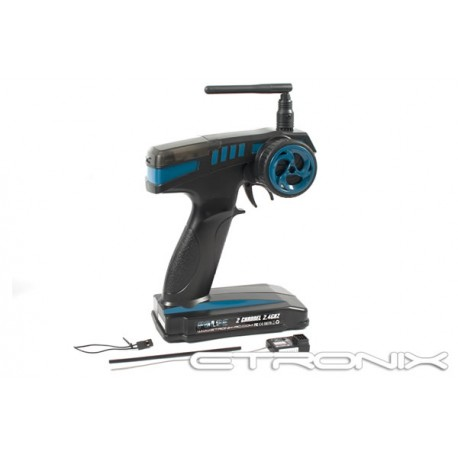 Emisora RC Etronix PULSE GFSK EX2 Sport 2,4Ghz