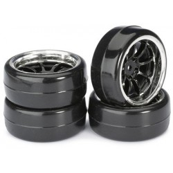 "Wheel Set Drift LP "" 9 Spoke / Profile B"" black/ch"