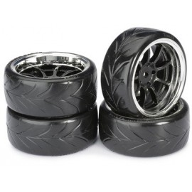 "Wheel Set Drift LP "" 9 Spoke / Profile A"" black/ch"
