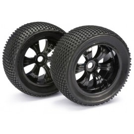 ABSIMA 2520013 Wheel Set LP Truggy Dirt 1:8 (2)