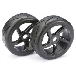 "Wheel Set Buggy ""Street"" black 1:8 (2 pcs)"