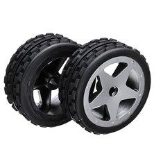 "Wheel Set LP Truggy ""Street"" chrome 1:8 (2 pcs)"