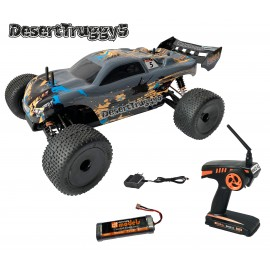 Coche radio control Desert Truggy 5 – 4WD brushed