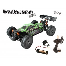 Destructor BBR - 1:8 Buggy brushed RTR DF- Models