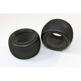 Rear Tyre / Sponge (2 pcs) 2WD Buggy
