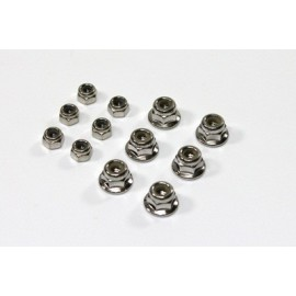 TEAM C 2WD T02084 Lock Nut Set M3/M4