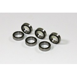 Ball Bearing 10X15x4mm (6 pcs) 2WD/4WD