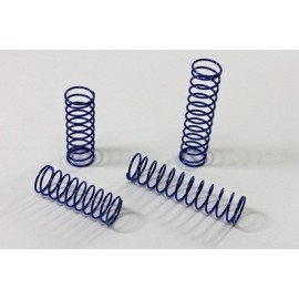 TEAM C TU0230 Hard Spring Set blue (4) 2WD