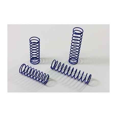 Hard Spring Set blue (4 pcs) 2WD