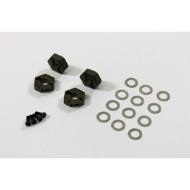 Alu Hex Hub 12mm (4 pcs)