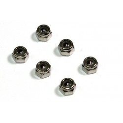 Nut Set M4 (6 pcs) 1:8