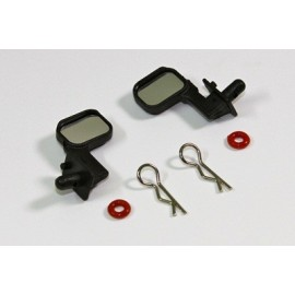 Rear Mirror Set chrome (2 pcs)