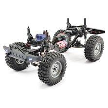 """Wheel Set Onroad """"6 Spoke / Profile"""" white 1:10 (4"""