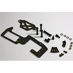 Carbon Radioplate Conversion Kit 1:8 Comp. Buggy