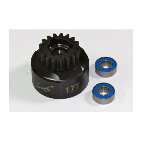 Clutch Bell 17T inclusive Ball Bearing1:8 Comp.