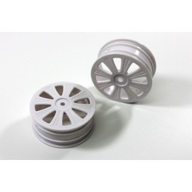 TEAM C 4WD TR4032 Front Rims white (2) 4WD Buggy