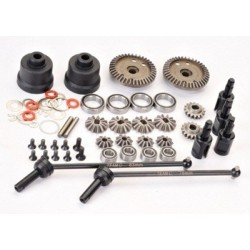 TEAM C TU0438 Gear-Diff. Set 4WD Comp. Buggy (T4)