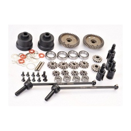 Gear-Diff. Set 4WD Comp. Buggy (T4)