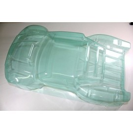 Body PC clear 4WD SC Truck