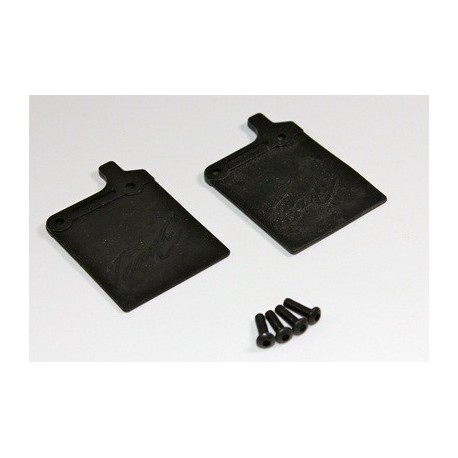 TEAM C 2WD TS2008 Mud Guards 2WD SC Truck