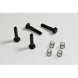 Brake Screws/Brake Pad Spring (4 pcs) 1:8 Comp.