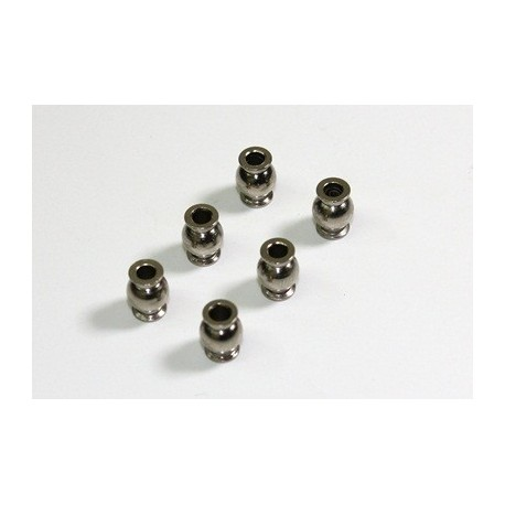 Ball Stud Steering 6.8mm short (6 pcs) 1:8