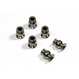Ball Stud Steering 6.8mm long (6 pcs) 1:8