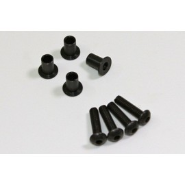 Screw/Bushing for Front Hub (4 pcs) 1:8