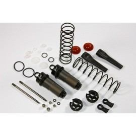 Rear Damper Set compl. (2 pcs) 1:8 BL Comp.