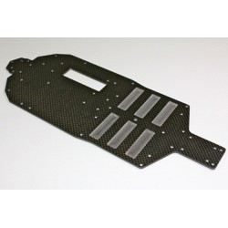 Carbon Chassis Plate 4WD Comp. Buggy