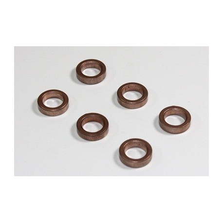 Contain Oil Bearing 10x15x4mm (6 pcs) 2WD