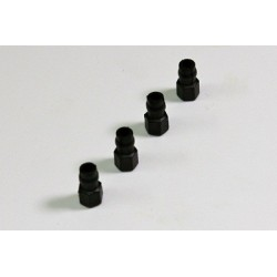 Ball Stud plastic 5mm (4 pcs) 2WD