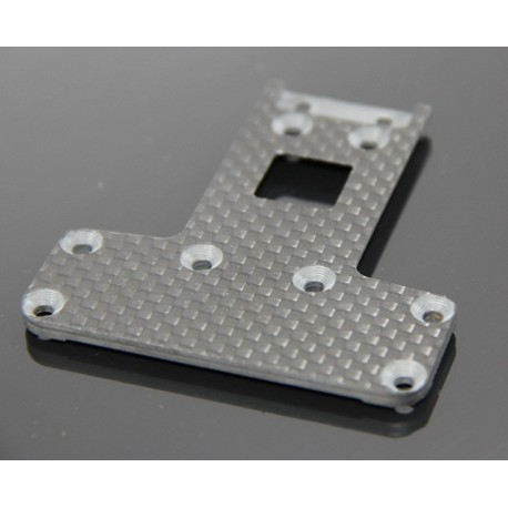 Carbon Chassis Plate rear for Gear Diff.