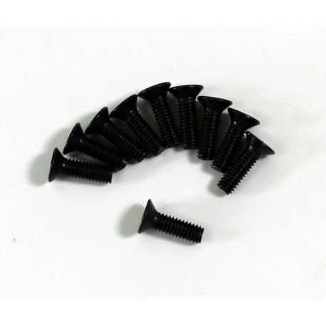 Flat Head Screw M3x6mm (10) Comp. Onroad