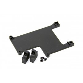 TEAM C 4WD TS4021 Electr. Equipment Mount 4WD Comp. SC Truck