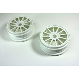 Rims white (2) 1:8 Rally / Onroad