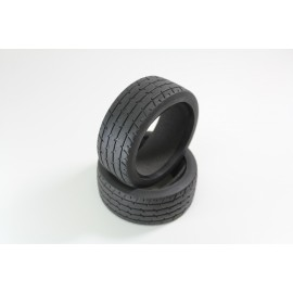 "Tyre With Sponge ""Line"" (2) 1:8 Rally / Onroad"