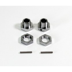 Wheel Hub Set 17mm (2) 1:8 Rally