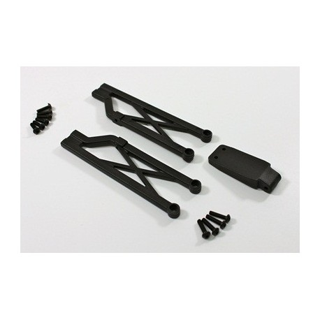 Rear Bumper Set-A 2WD SC-Truck