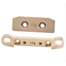 Rear Arm - Brass Weight rear/rear 10 + 15g Tm2V2/T