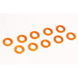 Washer M3 0,5mm orange (10)