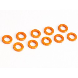 Washer M3 1.0mm orange (10)