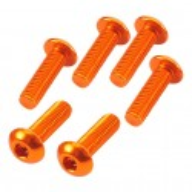 Button Head Hex Screw orange 3x10mm (6)